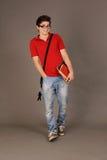 Student boy. Royalty Free Stock Photo