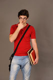 Student boy. Royalty Free Stock Photography