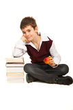 Student boy Royalty Free Stock Photography