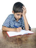 Student boy exam Stock Photos