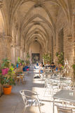 Student Cafeteria in the Cloister of Saint Augustin Stock Image