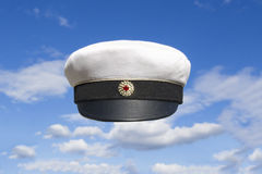 Student cap Swedish on blue sky Stock Photo