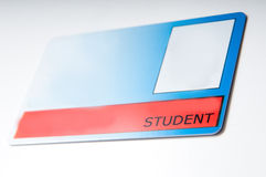 Student card Stock Image