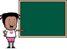 Student Chalkboard Stock Image