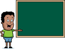 Student Chalkboard Royalty Free Stock Photos