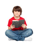 Student child with a book Stock Photos