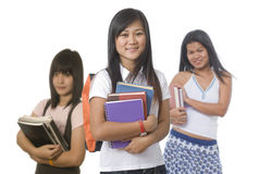 Student with classmates Royalty Free Stock Photography