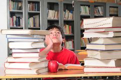 Student in a classroom Royalty Free Stock Photos