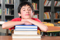 Student in a classroom Stock Photos