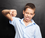 Student at classroom Royalty Free Stock Images