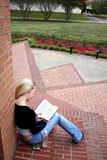 Student at College Royalty Free Stock Photo