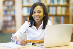 Student college library Stock Photography