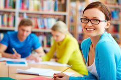 Student of college Stock Image