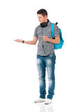 Student of college or university Stock Image