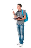 Student of college or university Royalty Free Stock Image