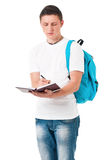 Student of college or university Royalty Free Stock Photography
