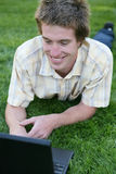 Student on Computer Stock Photography
