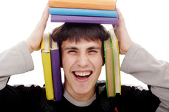 Student cry Royalty Free Stock Photos