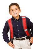 Student: Cute Student Ready for School Royalty Free Stock Photography