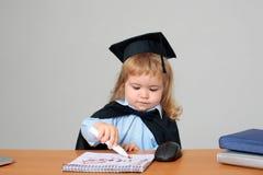 Student des kleinen Jungen Kinder Stockfoto