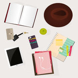 Student desk: Stock Images