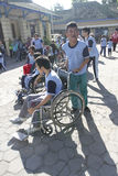 Student with disabilities Stock Photos