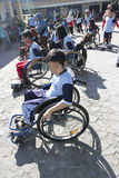 Student with disabilities Royalty Free Stock Photo