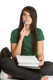 Student Doing Homework Royalty Free Stock Image