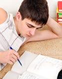 Student doing Homework Stock Photos