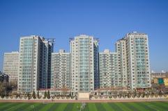 Student dormitory. Graduate student dormitory in Beijing, China, Beijing, China University of Mining Stock Images