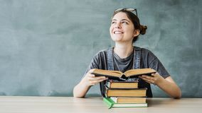 Student education back to school concept royalty free stock image