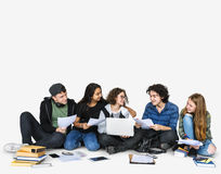 Student Education School Academic Friends Stock Image
