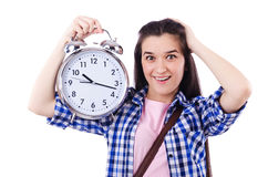 Student failing to meet deadlines Stock Photo
