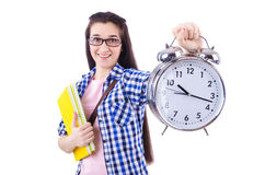 Student failing to meet deadlines Stock Photography