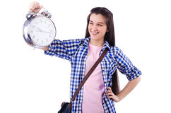 Student failing to meet deadlines Royalty Free Stock Photography