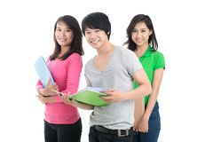Student friends Royalty Free Stock Photography