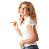 Student girl Royalty Free Stock Images