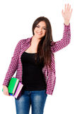 Student girl Royalty Free Stock Photo