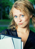 Student girl. Stock Images
