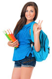 Student girl Stock Images
