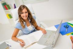 Student Girl Learning stock fotografie