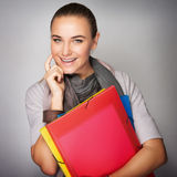 Student girl portrait Stock Photos
