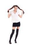 Student girl posing Stock Photos