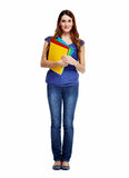 Student girl. Stock Photo