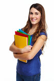 Student girl. Stock Photography