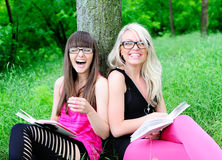 Student girls Royalty Free Stock Photography