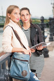 Student girls. Stock Photo