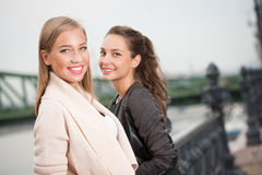 Student girls. Stock Images