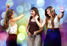 Student girls Stock Images