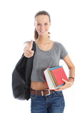 Student giving thumbs up Stock Photography